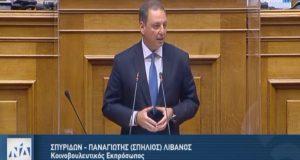 Ο Σπ. Λιβανός για προϋπολογισμό 2021 και Σχέδιο Ανάκαμψης της…