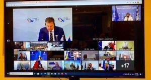 Ο Λ. Αυγενάκης στην άτυπη τηλεδιάσκεψη των 26 Υπ. Αθλητισμού…