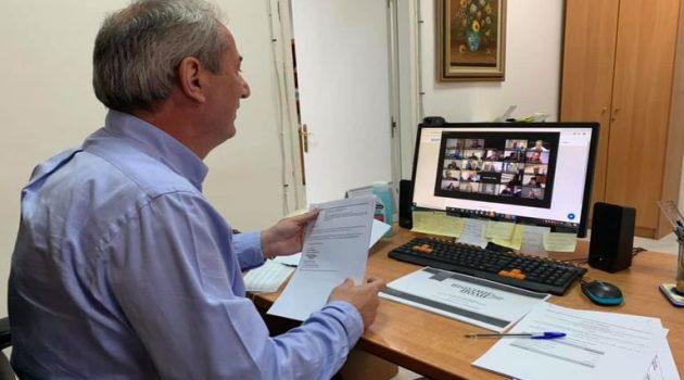 Σπ. Κωνσταντάρας: Τηλεδιάσκεψη με το Δίκτυο Πόλεων «Βιώσιμη Πόλη»