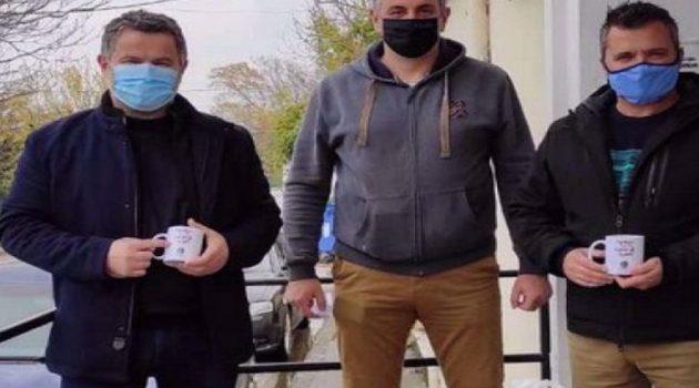 Αστυνομικοί της Α.Δ. Αιτωλίας στο πλευρό των πληγέντων της Καρδίτσας