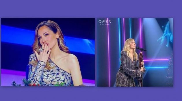 «J2US» – Τελικός: Η Βανδή έκανε story τη Βίσση την ώρα που τραγουδούσε! (Video)