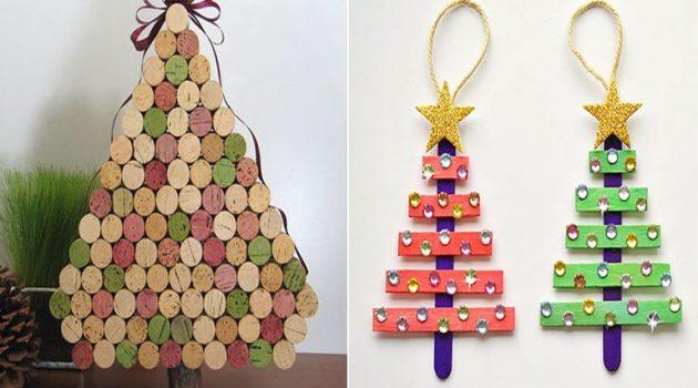 Ναυπακτία: Χριστουγεννιάτικες δημιουργίες με σπιτικά υλικά (Video)