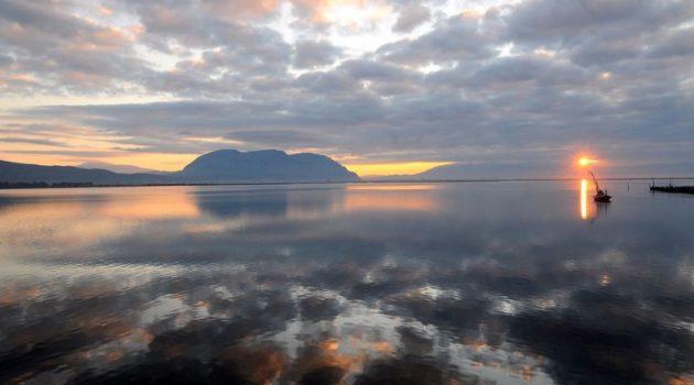 Ανατολή στη Λιμνοθάλασσα του Μεσολογγίου (Photos)
