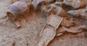 Αμάρυνθος: Εντυπωσιακά ευρήματα στο ιερό της Αρτέμιδος