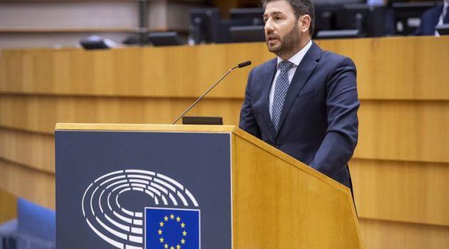 Νίκος Ανδρουλάκης στο Ευρωπαϊκό Κοινοβούλιο: Η Βόρεια Εύβοια χρειάζεται ειδικό αναπτυξιακό σχέδιο