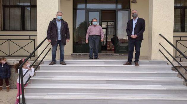 Ντίνος Τσουκαλάς: «Προτεραιότητά μας η ασφάλεια μαθητών και εκπαιδευτικών» (Photos)
