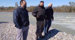 Ο Δ. Αναστασίου με κλιμάκιο της Π.Δ.Ε. σε πλημμυρισμένα σημεία…