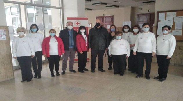 Αγρίνιο: Οι εργαζόμενοι στο Δικαστικό Μέγαρο ευχαριστούν τον Ερυθρό Σταυρό