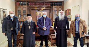 Κώστας Λύρος: «Η Εκκλησία πολύτιμος συνεργάτης στις εκδηλώσεις του 2021»…