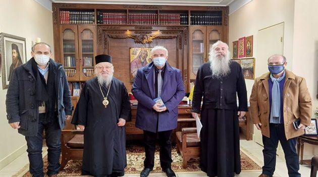 Κώστας Λύρος: «Η Εκκλησία πολύτιμος συνεργάτης στις εκδηλώσεις του 2021» (Photo)