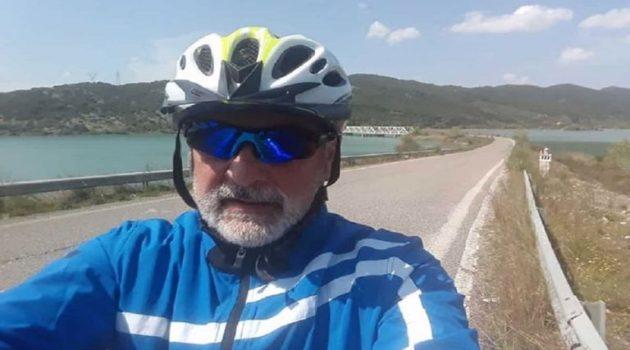 Δ. Τραπεζιώτης: «Ποδηλάτες όλου του Δήμου Αγρινίου ενωθείτε»