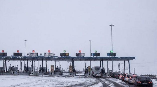 Απαγόρευση κυκλοφορίας φορτηγών άνω των 3,5 τόνων σε τμήμα της Αθηνών – Λαμίας
