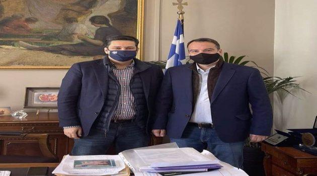 Συνάντηση Παπαθανάση – Παπαναστασίου: Ο Δήμος Αγρινίου να κηρυχθεί άμεσα σε κατάσταση έκτακτης ανάγκης
