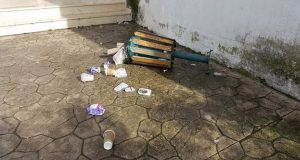 Αγρίνιο: Συνεχίζονται οι δολιοφθορές στην Πλατεία Καλυβίων (Photos)