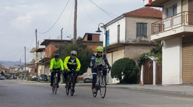 Οι ποδηλάτες «πάνε» Καλύβια Αγρινίου (Photos)