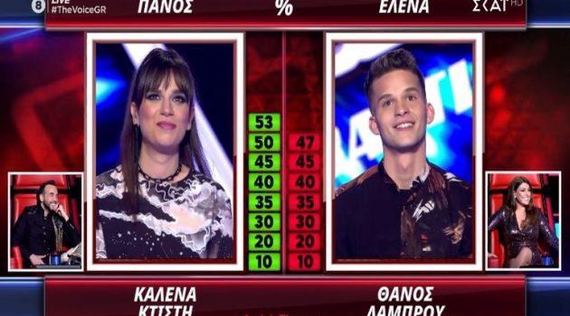 «The Voice»: Με 53% η Κατερίνα Κτίστη από το Μοναστηράκι Βόνιτσας στον Ημιτελικό! (Photos)