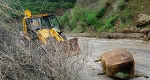 Κατολισθήσεις στον Ορεινό Βάλτο – Πτώση βράχων στο Μακρυνόρος (Video…