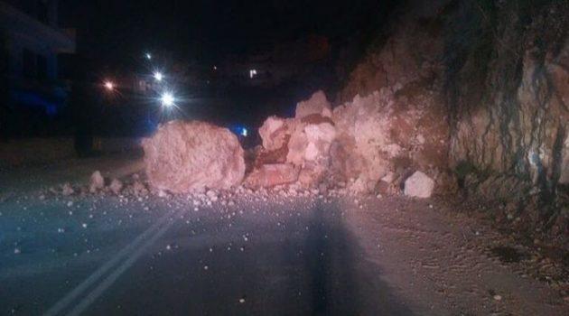 Σεισμός 4,7 Ρίχτερ: Κατολίσθηση στην Ε.Ο. Ναυπάκτου – Ιτέας