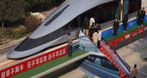 Κίνα: Παρουσίασε το μοντέλο του πιο γρήγορου τρένου στον κόσμο