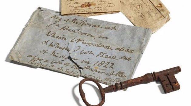 92.000 ευρώ για το κλειδί του δωματίου που πέθανε ο Μέγας Ναπολέων