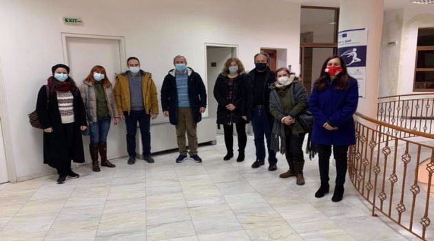 Με αντιπροσωπεία του Ι.Δ.Ε.Α. Περιφέρειας Θέρμου ο Σπ. Κωνσταντάρας
