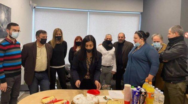 Σε ζεστή ατμόσφαιρα η κοπή της Πρωτοχρονιάτικης πίτας του «Agrinio365» Media Group (Φωτορεπορτάζ)