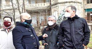 To κτήμα Τατοϊου επισκέφθηκε ο Σπ. Λιβανός με ομάδα εργασίας…