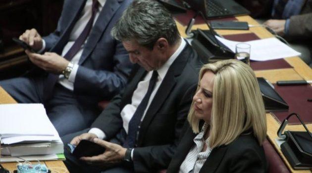 ΚΙΝ.ΑΛ.: Η Γεννηματά «έφαγε» τον Λοβέρδο από κοινοβουλευτικό εκπρόσωπο