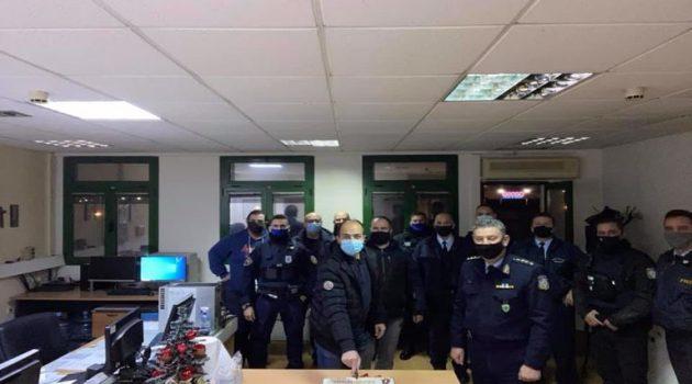 Οι Αστυνομικοί της Α.Δ. Ακαρνανίας εύχονται Καλή Χρονιά με υγεία και ευτυχία!