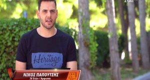 «The Voice» – Νίκος Παπουτσής: Το μεγάλο φαβορί από την…