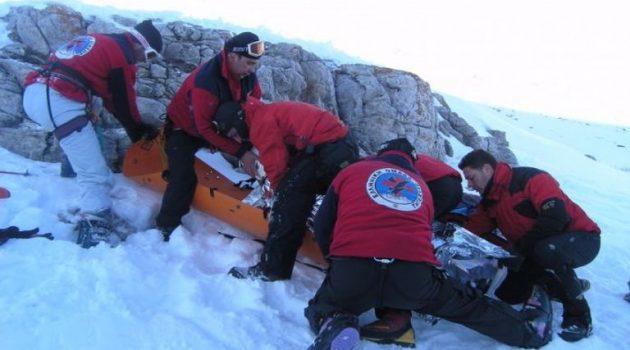 Ορειβάτες καταπλακώθηκαν από χιονοστιβάδα στον Όλυμπο