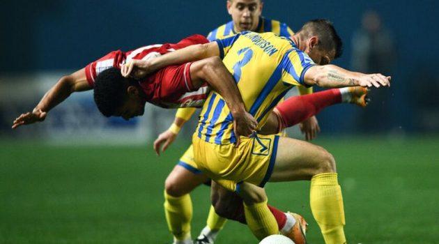 Κύπελλο – Τέλος πρώτου ημιχρόνου: Παναιτωλικός (0-1) Ολυμπιακός