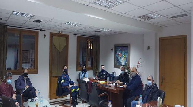 Δήμος Ναυπακτίας: Σύσκεψη φορέων εν όψει της κακοκαιρίας