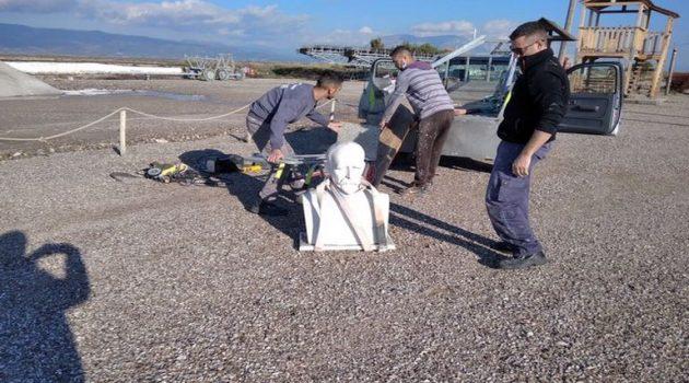 Μεσολόγγι: Την προτομή του Κωστή Παλαμά απέκτησε το Μουσείο Άλατος (Photos)