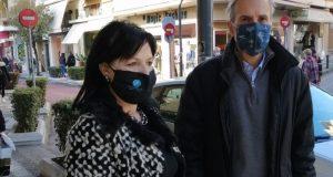 Αγρίνιο: Σαλμά, Κωστίκογλου και Σωτηροπούλου σε εμπορικά καταστήματα (Photo)