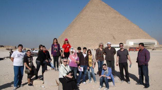 Όταν το 1ο Λύκειο και το Μουσικό Σχολείο Αγρινίου πήγαν στην Αίγυπτο (Photos)