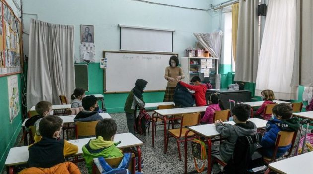 Από 1-20 Μαρτίου οι εγγραφές μαθητών σε Νηπιαγωγεία και Δημοτικά