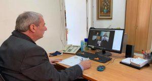 Δήμος Θέρμου: Τηλεδιάσκεψη για το «Κόκκινο Στεφάνι» Μυρτιάς (Photo)