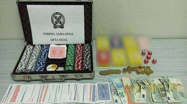 Αίγιο: Σύλληψη 13 ατόμων για χαρτιά – «Λουκέτο» στο κατάστημα και πρόστιμο