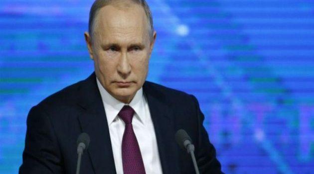 Σε αυτοαπομόνωση ο Πούτιν – Εντοπίστηκαν κρούσματα Covid-19 στο περιβάλλον του