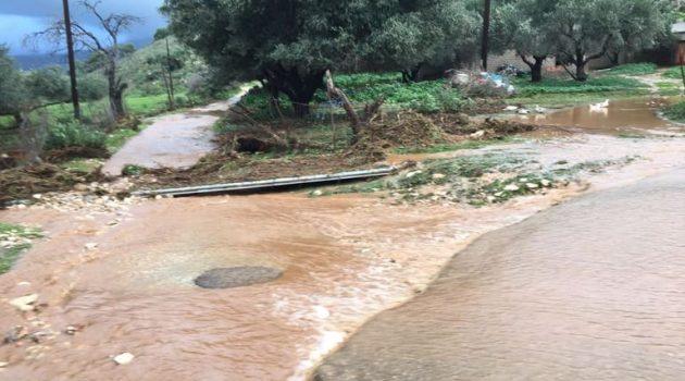 Σοβαρές ζημιές προκάλεσε η κακοκαιρία στο Δήμο Ξηρομέρου (Photos)