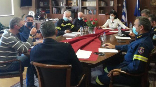 Π.Ε. Αιτ/νίας: Σύσκεψη για συντονισμό των δράσεων της αντιμετώπισης της «Μήδειας»