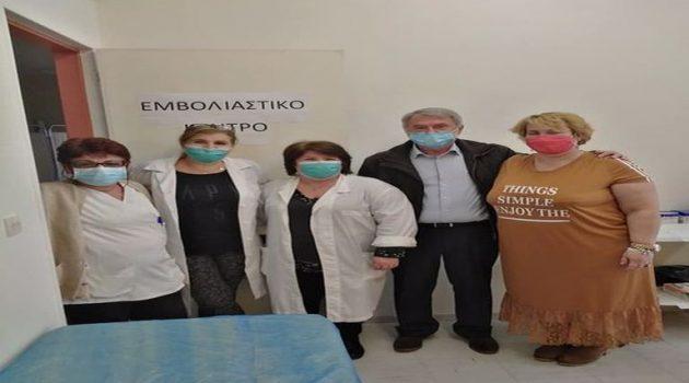 Ξεκινούν εμβολιασμοί και στο Κ.Υ. Αιτωλικού, με το εμβόλιο της AstraZeneca (Photos)