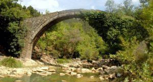 Βάλτος: Η γέφυρα της Βέργας, στον ποταμό Ίναχο, πριν από…