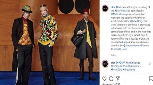 Ο ζωγράφος Peter Doig και η κολεξιόν FW 2021 του Dior Homme