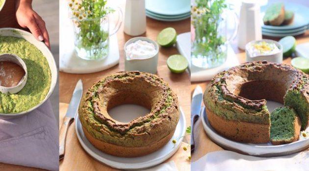 Αλμυρό κέικ λαχανικών