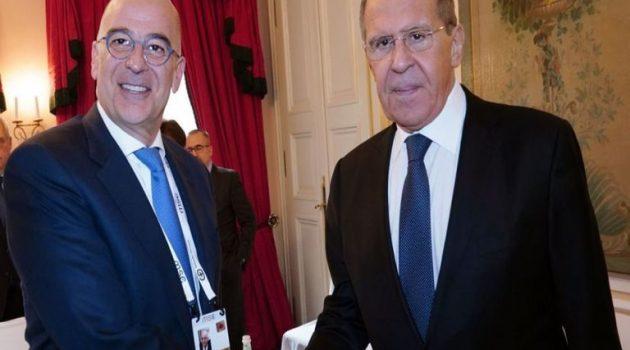Επικοινωνία Δένδια – Λαβρόφ για την Ανατολική Μεσόγειο και τις σχέσεις Ε.Ε.-Ρωσίας