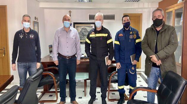 Συνάντηση με το Δήμαρχο Ναυπακτίας είχε ο νέος Διοικητής Π.Υ. Αιτωλοακαρνανίας