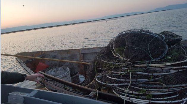 Μεσολόγγι: Πρόστιμο για παράνομη αλιεία