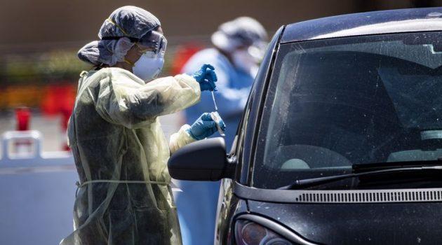 Αιτωλοακαρνανία: 2 κρούσματα στους ελέγχους Drive Through Testing του Ε.Ο.Δ.Υ.